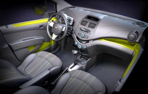 GM 차세대 경차 시보레 스파크, 제네바 모터쇼에서 첫 선