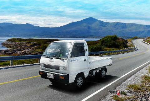친환경 0.5t 전기트럭 라보ev 피스, 하반기 제주 보급 실시