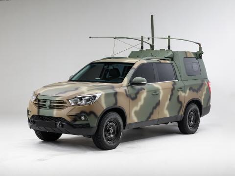 쌍용자동차, 국군 지휘차량으로 렉스턴 스포츠 공급