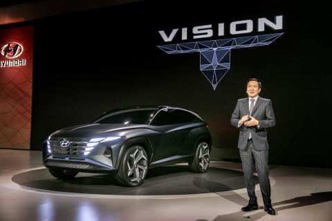 현대자동차, 2019 LA 오토쇼에서 SUV 콘셉트카 'Vision T'·고...
