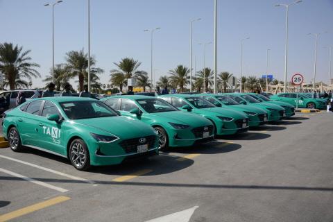 현대자동차, 사우디아라비아에 신형 쏘나타 공항 택시 대량 수주...