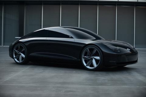 현대자동차, EV 콘셉트카 '프로페시' 공개