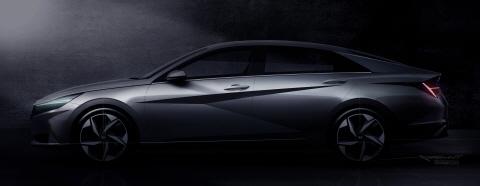 현대자동차, '올 뉴 아반떼' 티저 이미지 최초 공개