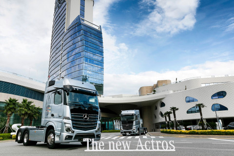 메르세데스-벤츠 트럭, 뉴 악트로스 출시 기념 '더블더블 캠페...