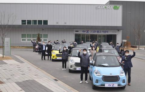 쎄미시스코 전기차 EV Z, 2021년 첫 출고… 월 10만원대 경형전...