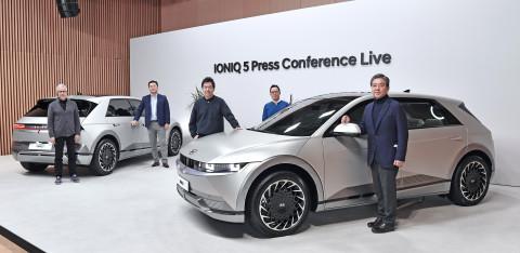 현대자동차, '아이오닉 5' 세계 최초 공개