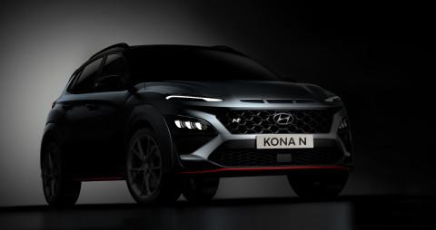 현대자동차, 코나 N 디자인 티저 공개
