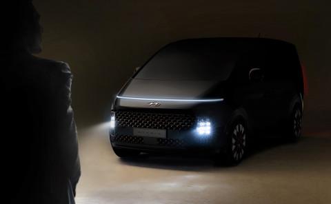 현대자동차, '스타리아' 티저 이미지 세계 최초 공개