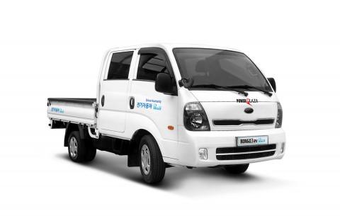 파워프라자, 국내 최초 더블캡 전기화물차 출시