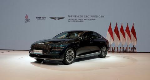 제네시스 G80 전동화 모델, G20 발리 정상회의 공식 VIP 차량 선...