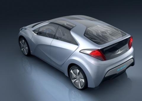 현대차, 플러그인 하이브리드 콘셉트카 'HND-4' 이미지 공개
